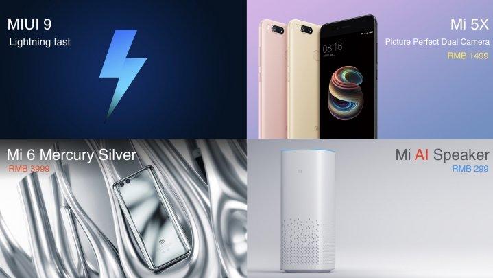 Neuvorstellungen bei Xiaomi - Mi5X, MiUI 9 und weitere Neuigkeiten 1