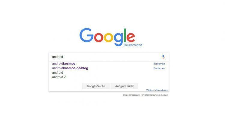 Google Suche: Instant Search wird entfernt 1
