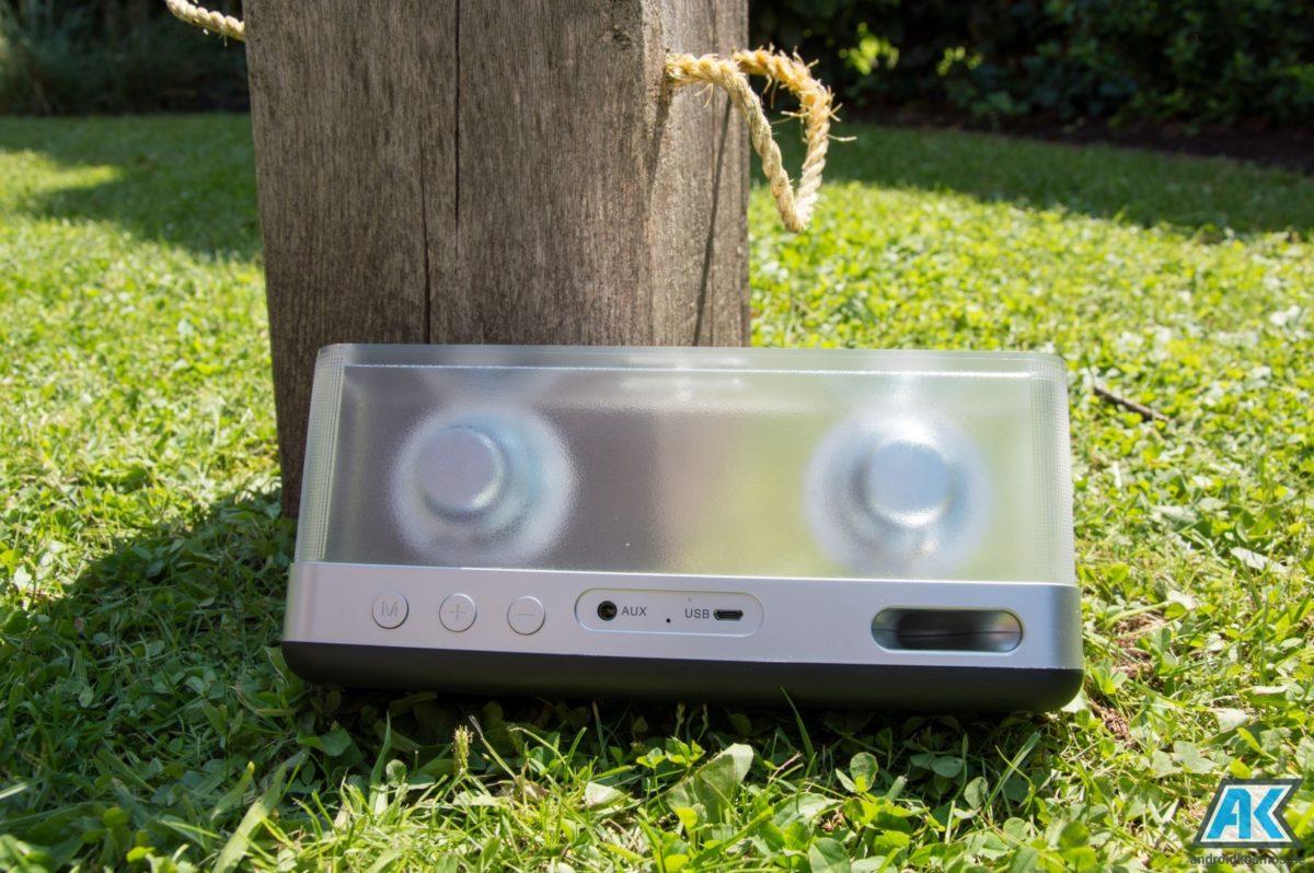 Inateck BP2003 Test: schicker Bluetooth Lautsprecher 9