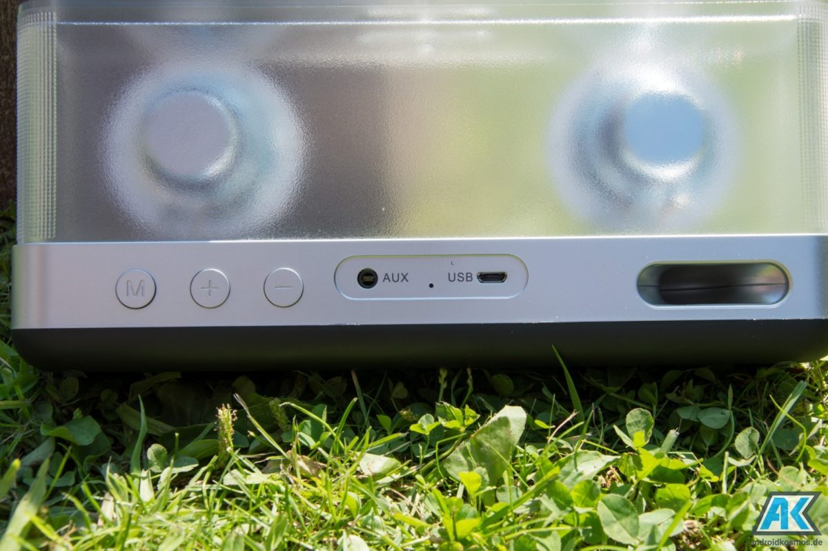 Inateck BP2003 Test: schicker Bluetooth Lautsprecher 10