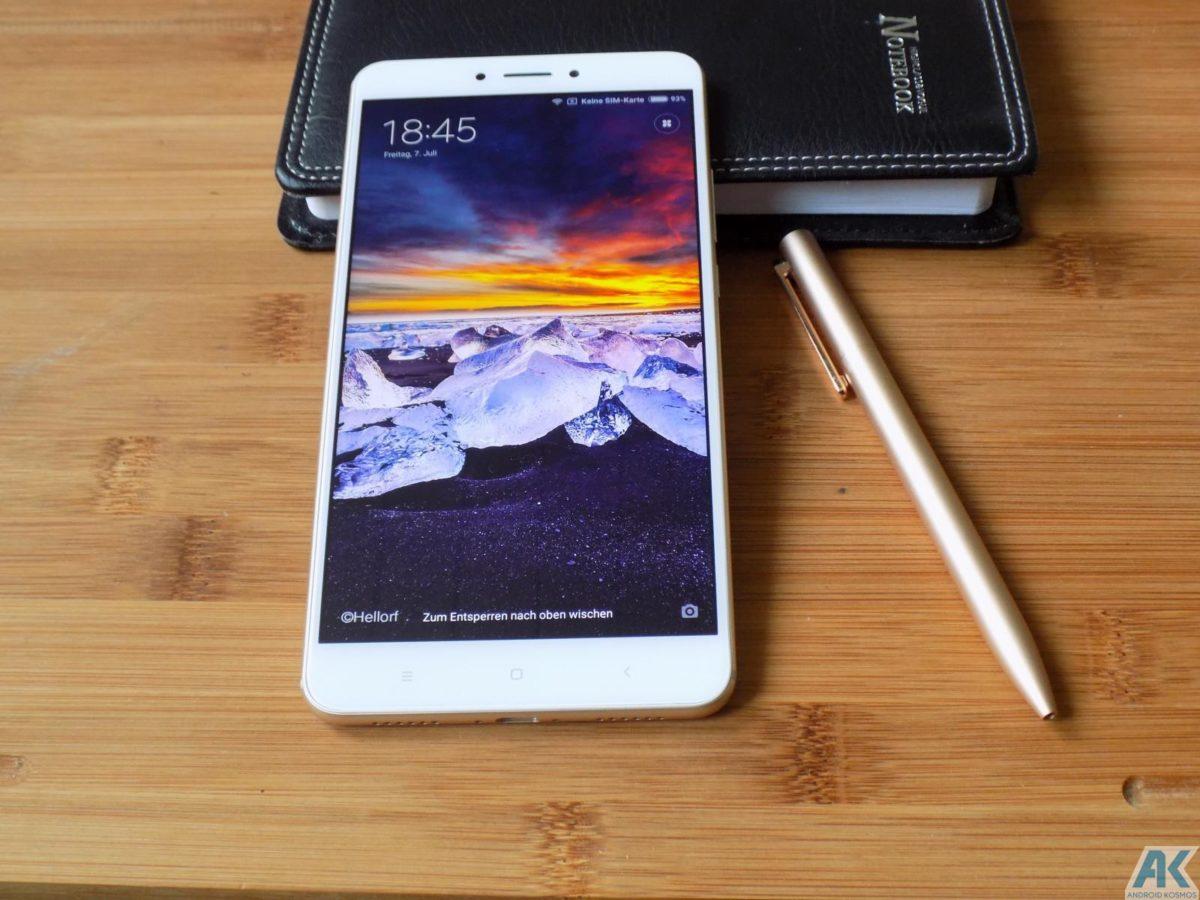 Xiaomi Mi Max 2 Test: Das Phablet ist ein wahrer Akkugigant 183