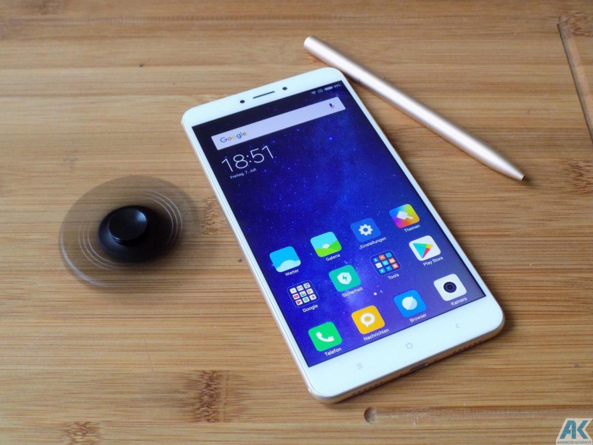 Xiaomi Mi Max 2 Test: Das Phablet ist ein wahrer Akkugigant 155
