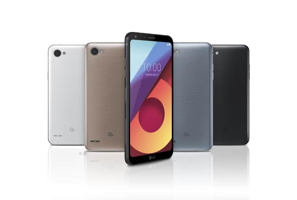 LG Bild Q6 Farben
