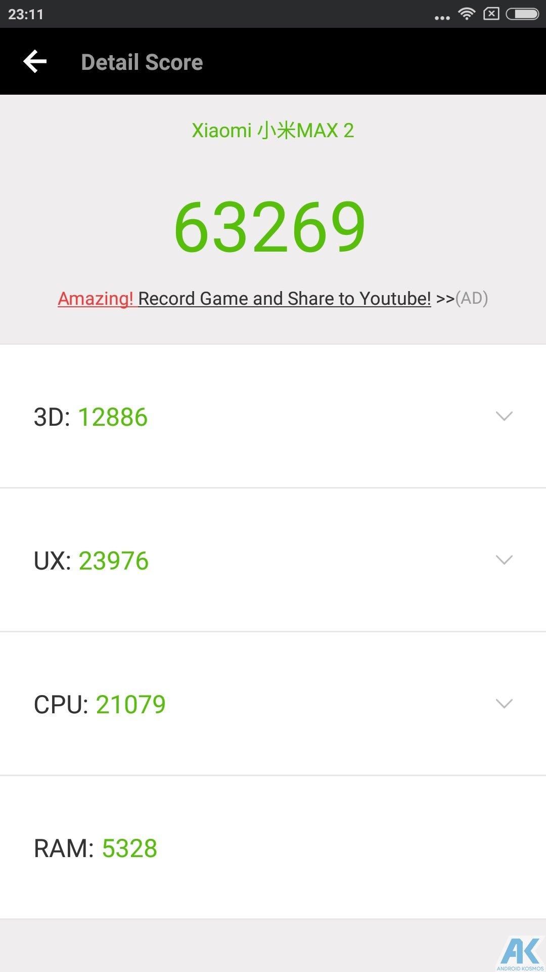 Xiaomi Mi Max 2 Test: Das Phablet ist ein wahrer Akkugigant 44