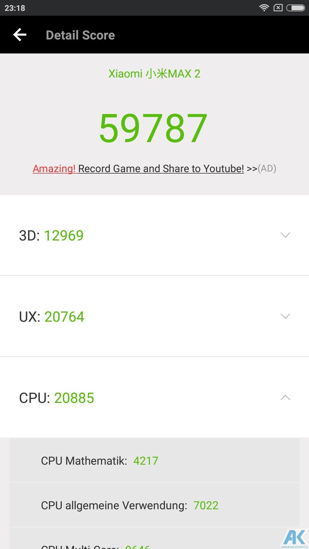 Xiaomi Mi Max 2 Test: Das Phablet ist ein wahrer Akkugigant 45