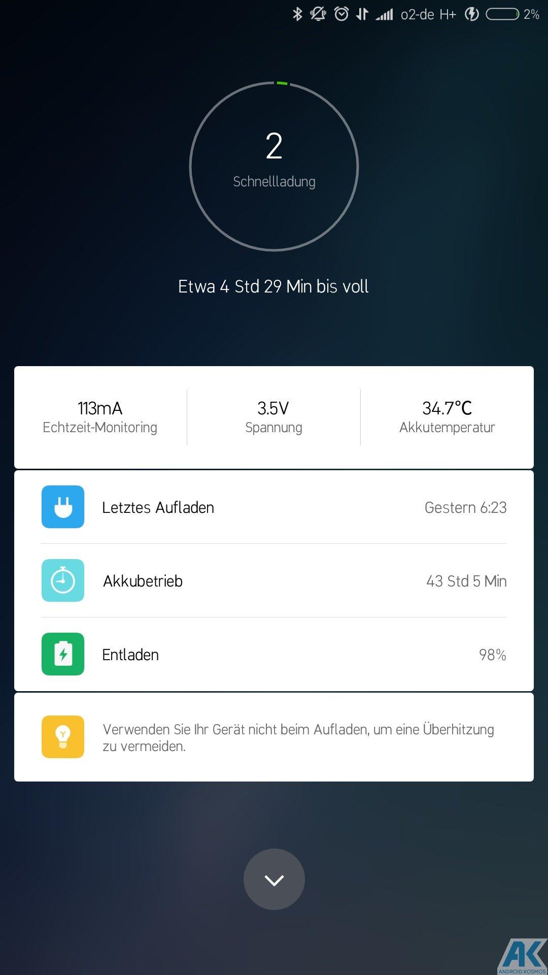 Xiaomi Mi Max 2 Test: Das Phablet ist ein wahrer Akkugigant 100