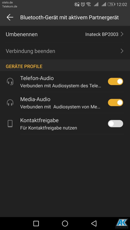 Inateck BP2003 Test: schicker Bluetooth Lautsprecher 12