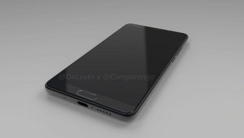Huawei Mate 10: Erste Renderbilder und es soll eine Varianten mit Full-Screen Display geben 7