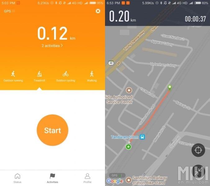 Xiaomi: Mi Fit App 3.0 und neue Huami Amazfit Smartwatch 2