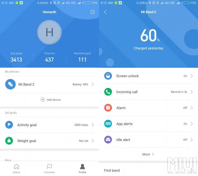 Xiaomi: Mi Fit App 3.0 und neue Huami Amazfit Smartwatch 3