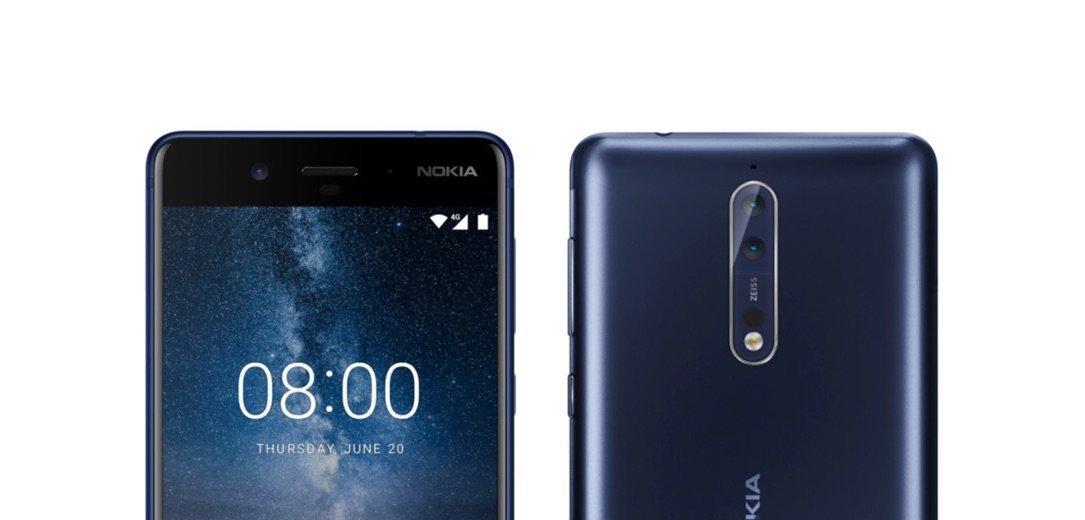 Nokia 8: das neue Flaggschiff-Smartphone erscheint mit Snapdragon 835 Zeiss Dual-Kamera 1