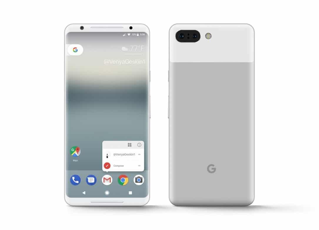 Google Pixel XL 2 soll Always-On-Funktion und druckempfindlichem Rahmen besitzen 3