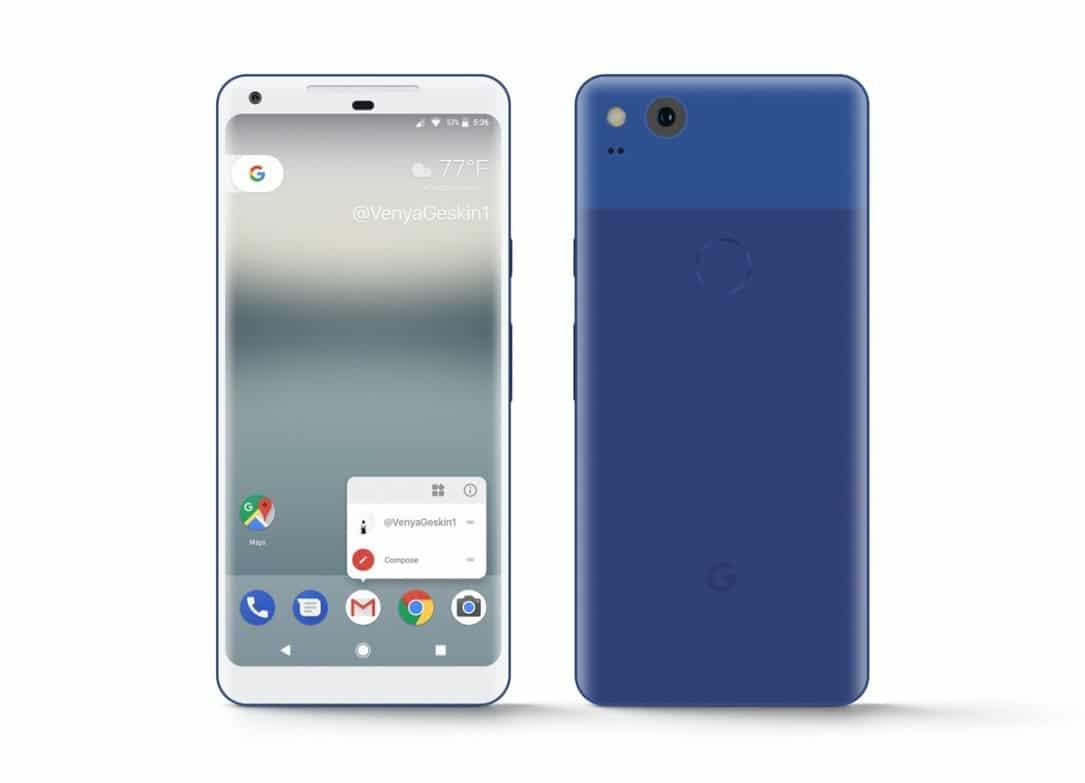 Google Pixel XL 2 soll Always-On-Funktion und druckempfindlichem Rahmen besitzen 4