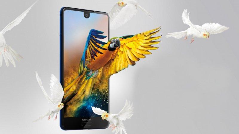 SHARP AQUOS S2: neues randloses Smartphone vorgestellt 1