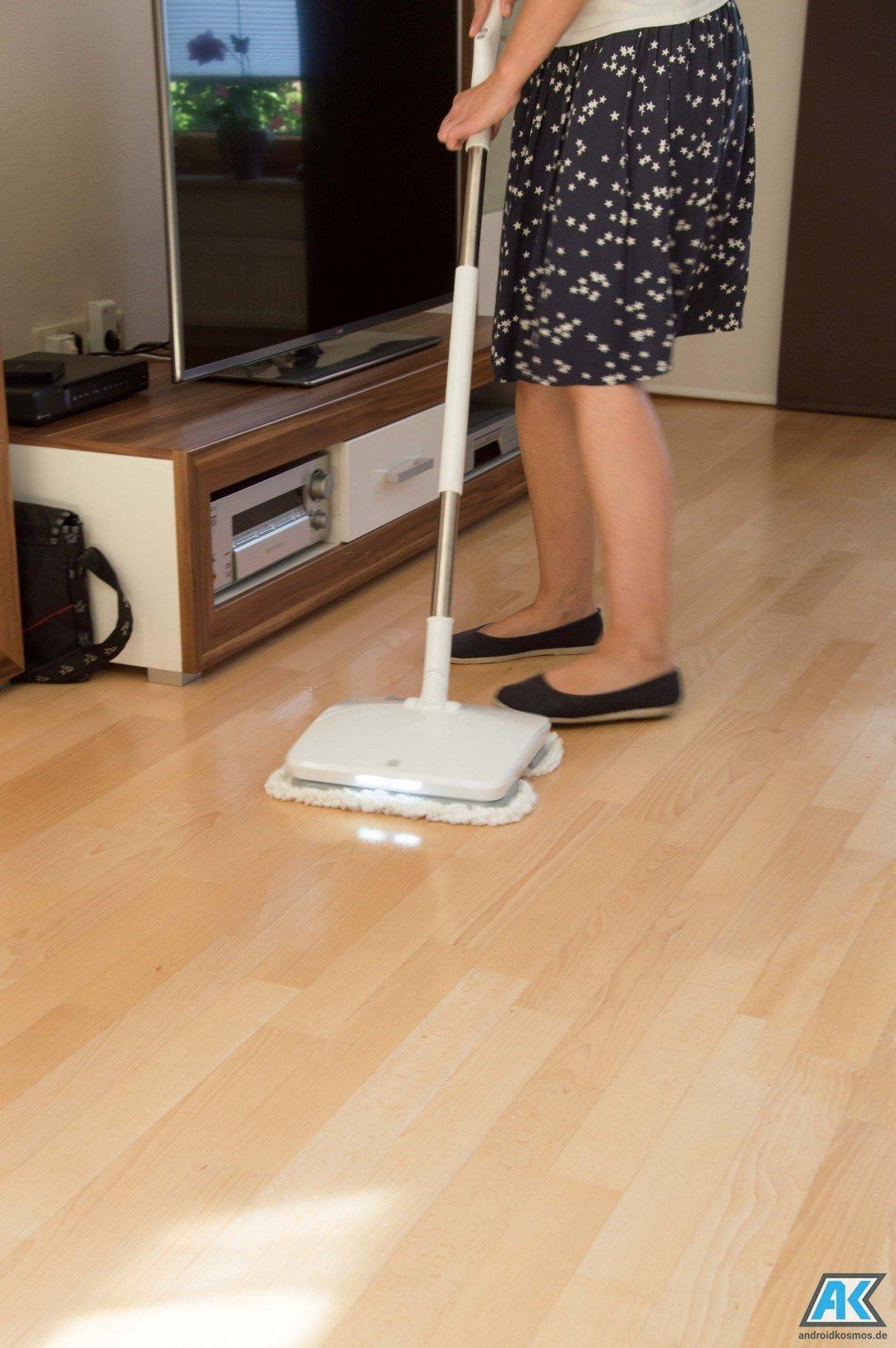 xiaomi mi elektrischer wischmopp im test handheld electric mop. Black Bedroom Furniture Sets. Home Design Ideas
