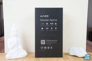 Maze Alpha Test: randloses, riesiges und sehr günstiges Smartphone 72