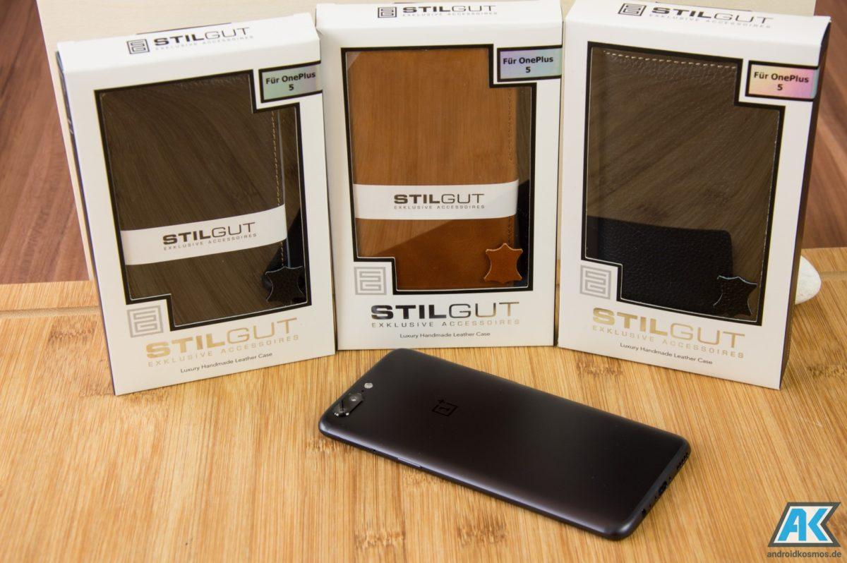 StilGut Cases Test: Echtleder-Hüllen für das OnePlus 5 1