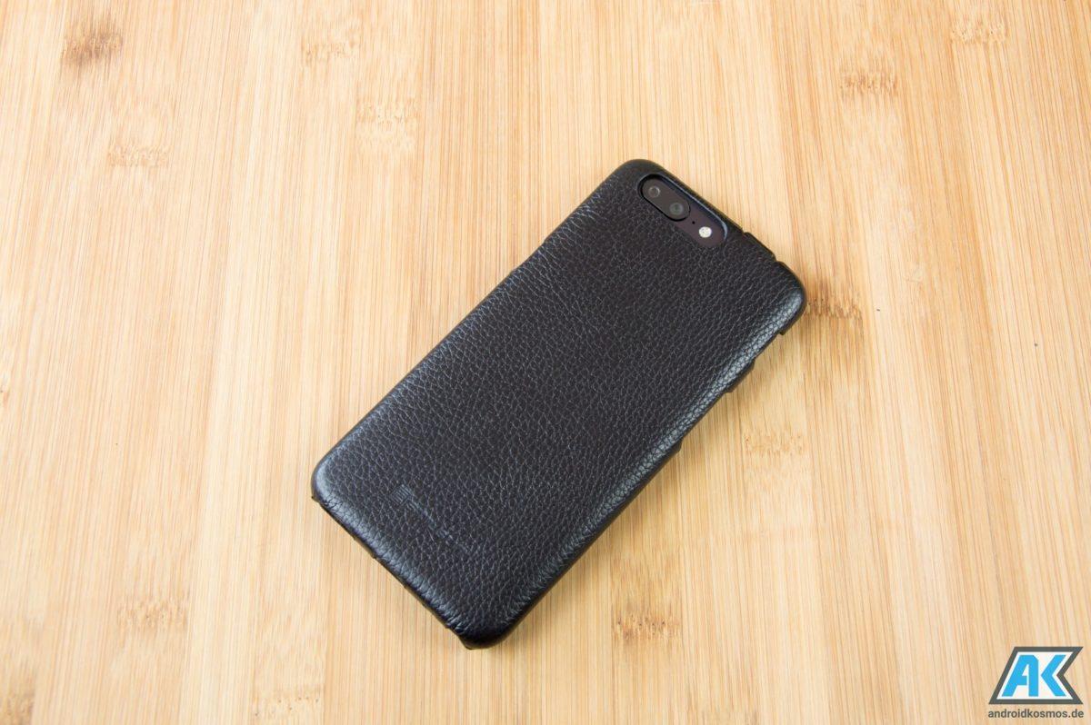StilGut Cases Test: Echtleder-Hüllen für das OnePlus 5 9
