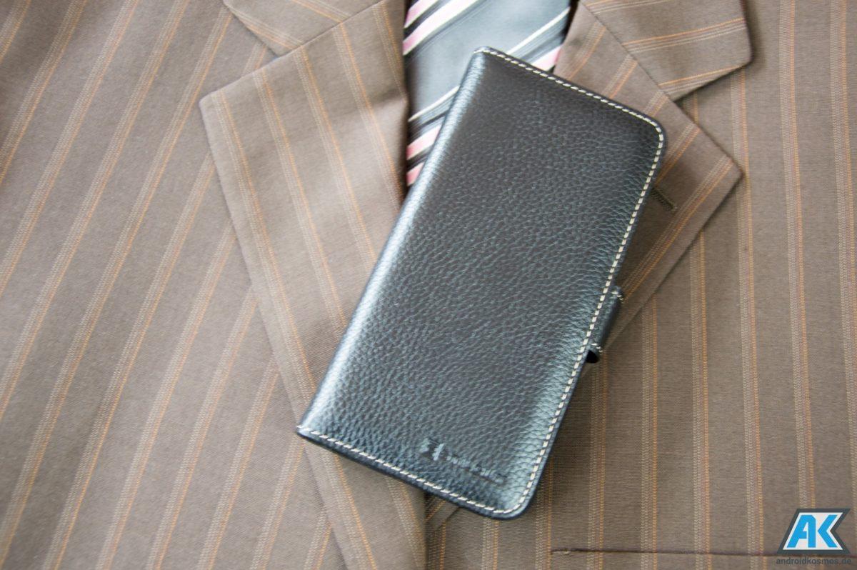 StilGut Cases Test: Echtleder-Hüllen für das OnePlus 5 10