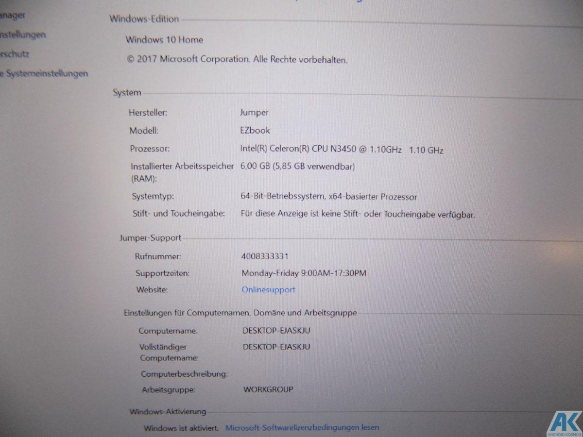 Ezbook 3 Pro im Test - Low Budget 13.3 Notebook mit edlem Gehäuse 20