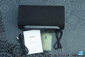 AUKEY Bluetooth Lautsprecher SK-M30, SK-S1 und SK-M31 im Test 27