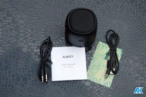 AUKEY Bluetooth Lautsprecher SK-M30, SK-S1 und SK-M31 im Test 4