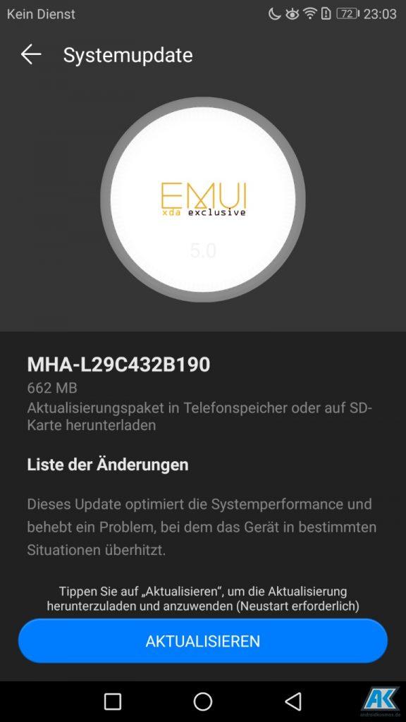 Huawei Mate 9: OTA-Update B190 wird verteilt und aktuell für 444 Euro im Angebot 1