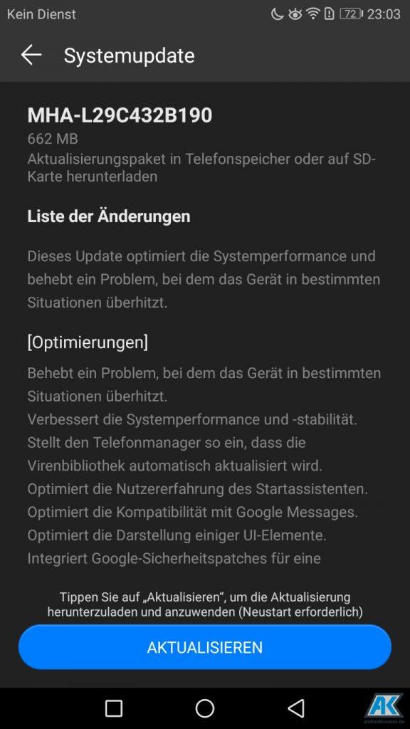 Huawei Mate 9: OTA-Update B190 wird verteilt und aktuell für 444 Euro im Angebot 2