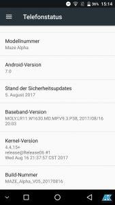 Maze Alpha Test: randloses, riesiges und sehr günstiges Smartphone 58