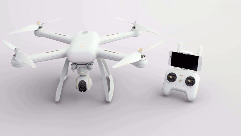 Angebot: Dronen aktuell zum Bestpreis nur bei Gearbest - DJI Spark RTF und Xiaomi Mi Drone 4K 8