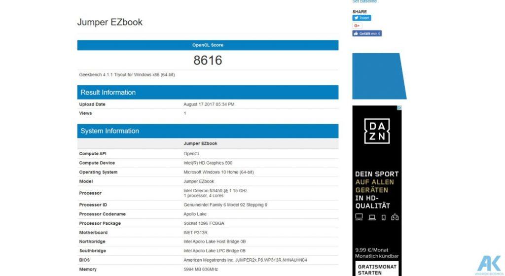Ezbook 3 Pro im Test - Low Budget 13.3 Notebook mit edlem Gehäuse 39
