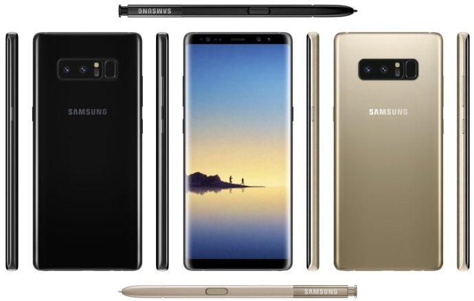 Samsung Galaxy Note 8: so sieht es aus