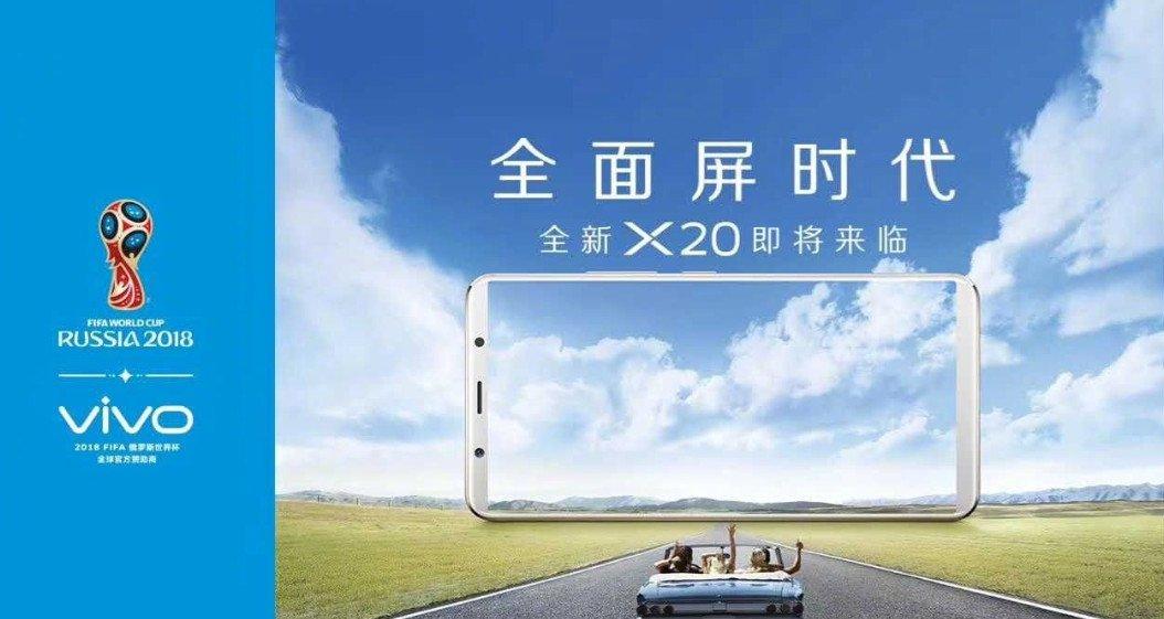 Vivo X20: offizielle Teaser-Bilder zeigen ein randloses Smartphone 2