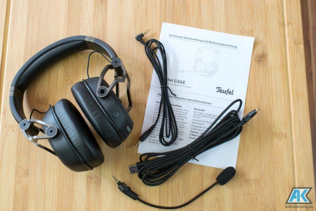 TEUFEL CAGE Test: das erste USB Gaming Headset des Herstellers 34