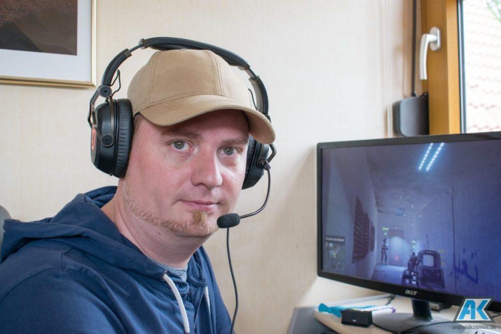 TEUFEL CAGE Test: das erste USB Gaming Headset des Herstellers 39