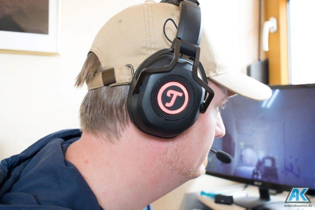 TEUFEL CAGE Test: das erste USB Gaming Headset des Herstellers 41