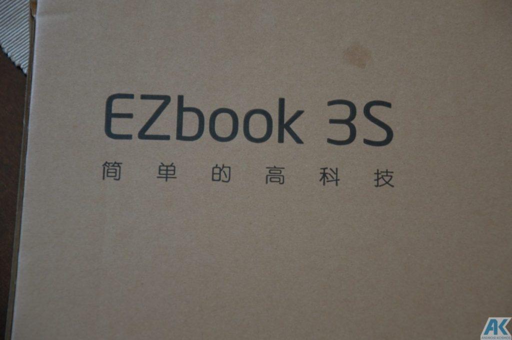Ezbook 3S im Test - 14,1 Zoll Budget Notebook mit 256GB SSD 4