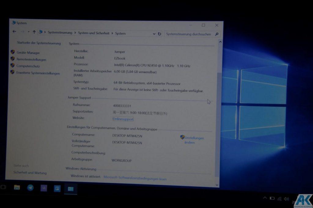 Ezbook 3S im Test - 14,1 Zoll Budget Notebook mit 256GB SSD 17