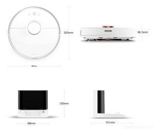 Xiaomi Mi Robot Vacuum Cleaner 2 - Roboterstaubsauger mit Wischfunktion 9