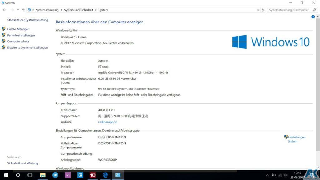 Ezbook 3S im Test - 14,1 Zoll Budget Notebook mit 256GB SSD 22
