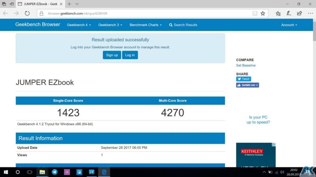 Ezbook 3S im Test - 14,1 Zoll Budget Notebook mit 256GB SSD 25