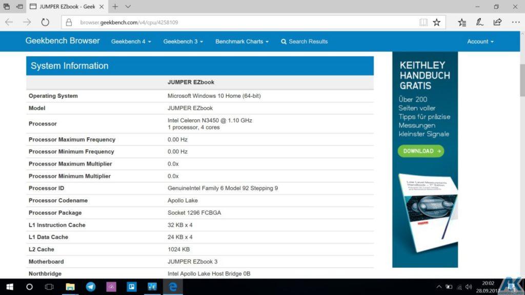 Ezbook 3S im Test - 14,1 Zoll Budget Notebook mit 256GB SSD 26