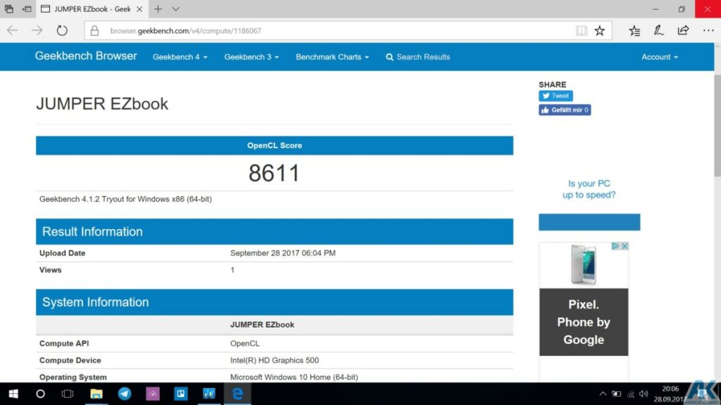 Ezbook 3S im Test - 14,1 Zoll Budget Notebook mit 256GB SSD 27