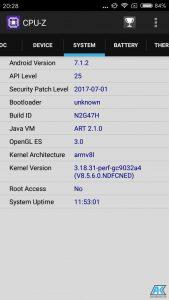 Xiaomi Redmi Note 5A Test: das günstigste Smartphone der Redmi Note-Serie 110