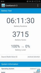 Xiaomi Redmi Note 5A Test: das günstigste Smartphone der Redmi Note-Serie 76