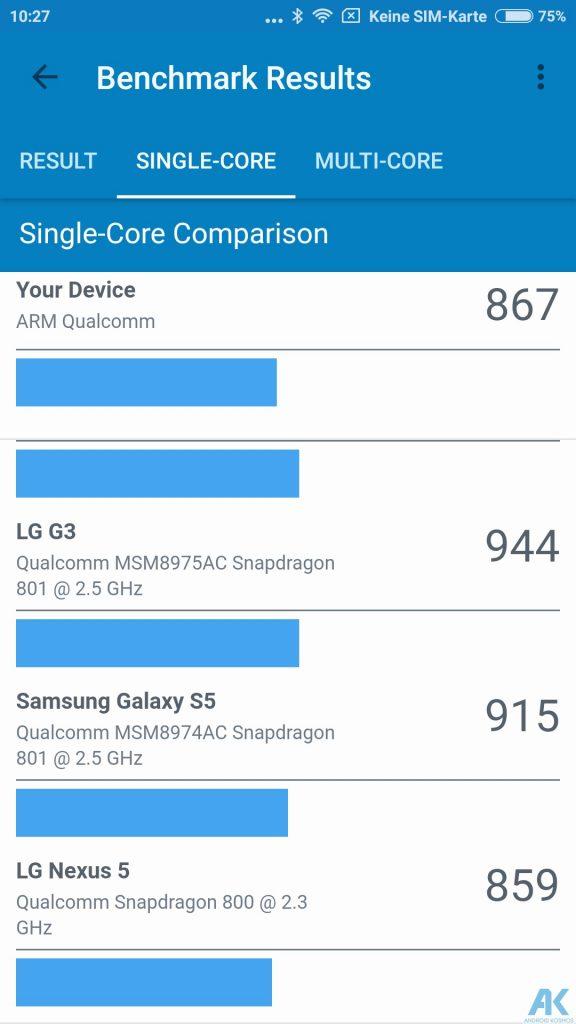Xiaomi Mi5X im Test - Was kann die neueste Version mit der Dual-Kamera? 23