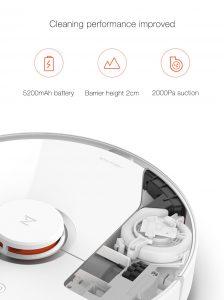 Xiaomi Mi Robot Vacuum Cleaner 2 - Roboterstaubsauger mit Wischfunktion 19