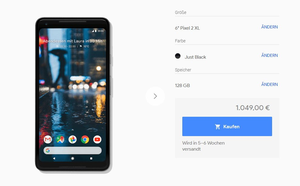 Google Pixel 2 (XL):  Zu teuer, zu langweilig - Nur Mittelmaß als Standard 3