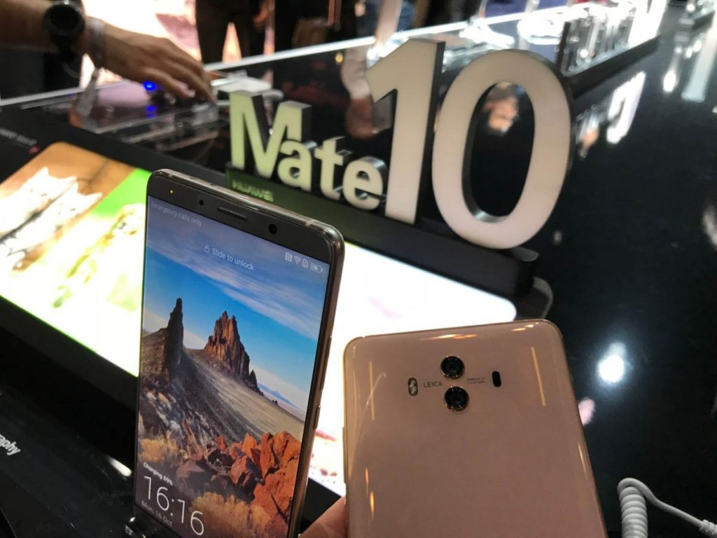 Huawei Mate 10 Pro Front 1024x768