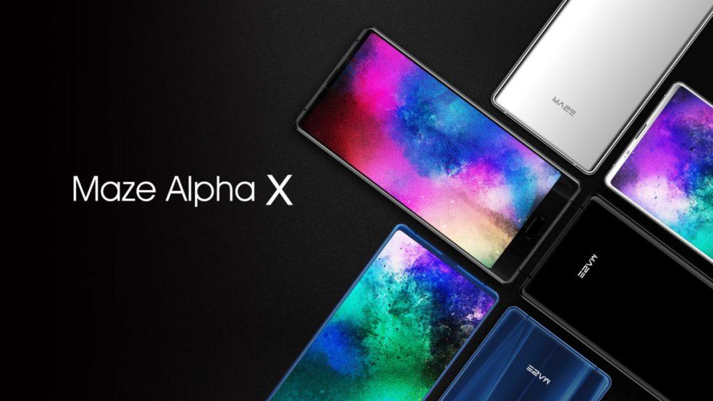 Maze Alpha X: Neues Smartphone mit Tri-Bezel-Less und 18:9 Display 2